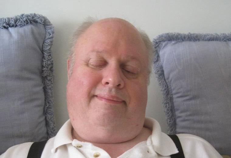 Portrait d'Alan Conway. 2014