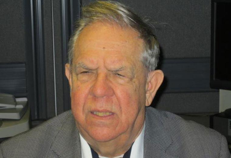 Portrait d'André Vincent. 2014