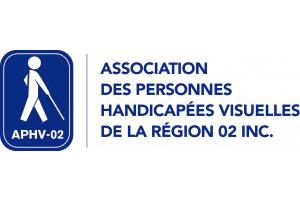 Logo de l'Association des personnes handicapées visuelles de la région 02