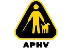 Logo de l'Association pour personnes handicapées visuelles de l'Abitibi-Témiscamingue (APHV-AT)