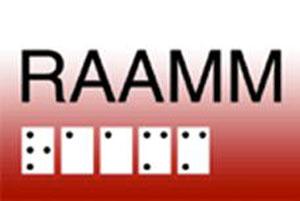 Logo du Regroupement des aveugles et amblyopes du Montréal Métropolitain (RAAMM)