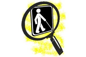 Logo du Regroupement des personnes handicapées visuelles RPHV (régions 03-12).